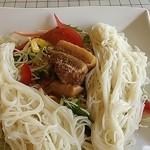 ラコンテ - 豚角煮そうめんサラダ定食(880円・ランチパスポート500円)