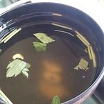 ラコンテ - 豚角煮そうめんサラダ定食(880円・ランチパスポート500円)シジミのお吸い物