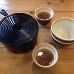 自家製ソーセージ&麦酒 SARU BACON 西天満店 - おとな様ランチ(1000円)お櫃ごはん+コンソメスープ