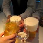 BAR PARTAGE - 4人で乾杯♪