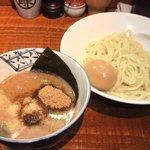 麺処 井の庄 - つけ麺味玉