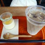 cafe美卵 - カフェオレ、濃厚プリン