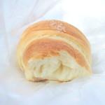 麦のひげ - ひげのしおパンの断面 '14 7月下旬
