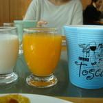 カフェトスカ - 2014.2.21オレンジジュース美味しいです