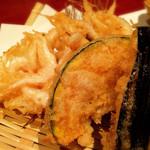 至福の富山湾 海鮮山鮮 - 白海老かき揚げ
