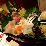 至福の富山湾 海鮮山鮮 - お造り盛合せ 五点盛り