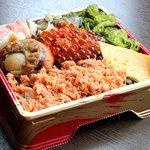 産直ぶりこ - 海鮮わっぱ(テイクアウト品)