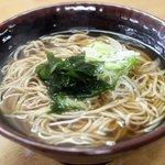 産直ぶりこ - 津軽そばっぽい食感と味。八峰町本館の手打そば