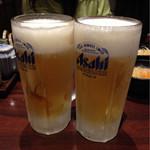 29539025 - 生ビール(中)¥380外×2