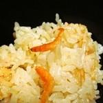 懐石料理かこむら - 桜エビの炊き込みご飯
