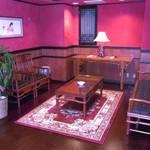 廣東飯店 - 貸切VIPフロアの待合スペース