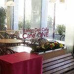カフェ・ワン - 店舗入り口のお写真でございます。