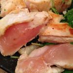 こて屋 - 大仙鶏香味焼き(たたき)