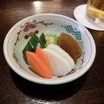 鰻 十和田 - お新香