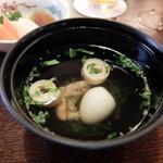 鰻 十和田 - 肝吸い
