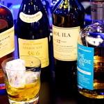 バー シエル - ウイスキーやバーボンにはこだわり有り