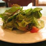 トラットリア・ルーチェ - 料理写真:ランチのサラダ