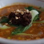 マンボ飯店 - マンボ飯店の坦々麺の肉みそ(14.08)