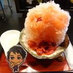 しんじろう 池袋総本店 - 生いちごミルクかき氷