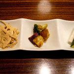 広味坊 - 料理写真:ランチの前菜