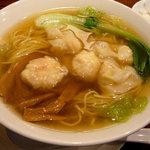 広味坊 - 海老雲呑麺 1050円