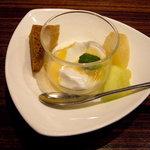 広味坊 - ランチのデザート