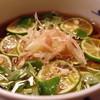 京金 - 料理写真:すだち蕎麦
