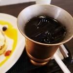 タイムカフェ - アイスコーヒー