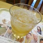 モスバーガー - 2014.05_オニポテセット(370円)ジンジャエール