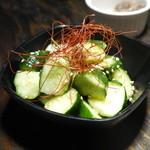 肉バルキッチン HANALE - ぶつ切りキュウリ305円