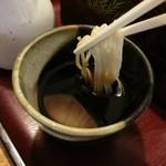 平松庵 - 蕎麦のつゆ