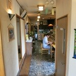 平松庵 - 入口より奥を見て