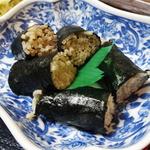 そば処 丸福 - 2014.05_レディースセット(880円)そば寿司