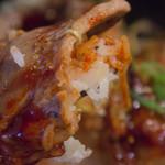 西宮ビーフ - 肩ロース+ご飯+タレ