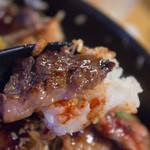 西宮ビーフ - カルビ+ご飯+タレ