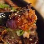 西宮ビーフ - ハラミ+ご飯+タレ