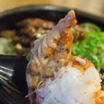 西宮ビーフ - セセリ+ごはん+タレ