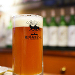 夕焼け麦酒園 - 銀河高原ビール・ペールエール
