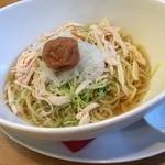 ココス - 梅塩冷やしラーメン(890円+税)_2014年8月
