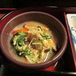 旬菜 和彩美 - 野菜の煮物卵とじ