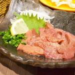 YAKITORI kitchen彩 - 【白レバー刺@680円】 久し振りにありつけました。^^