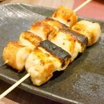 YAKITORI kitchen彩 - 【串盛り合わせ7本セット@値段失念】 ネギマです。