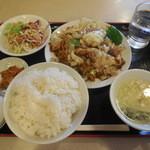 星宿飯店 - 回鍋肉定食 ¥550-