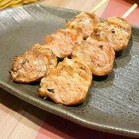 YAKITORI kitchen彩-【串盛り合わせ7本セット@値段失念】 ハツです。
