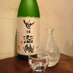 そば 三休 - 世は満足純米吟醸(栃木)