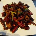 四川料理 天華 - 若鶏の揚げ物クミン山椒風味