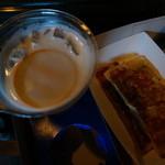 29574651 - ビアカクテルと焼き餃子