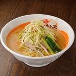 みそ壱 - 料理写真:ネギみそラーメン