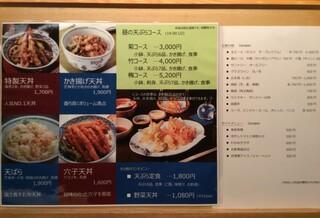 天ぷら魚新 - 2014-8-7