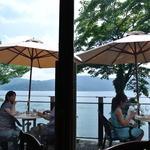 サロン・ド・テ ロザージュ - 芦ノ湖を眺めながら